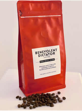 Benevolent Dictator Coffee 12oz Napa Valley Blend